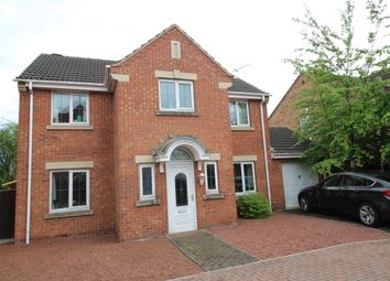 Thumbnail 4 bed detached house for sale in Butterbur Drive, Goole