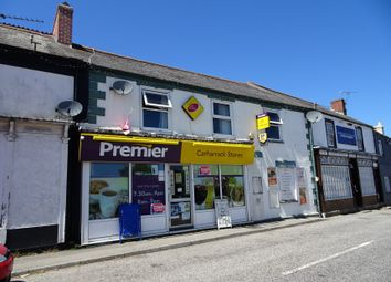 Thumbnail Retail premises for sale in 8 Church Street, Carharrack, Redruth, Cornwall