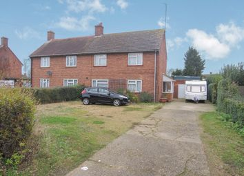 Thumbnail 4 bed semi-detached house for sale in Perry Road, Leverington, Wisbech