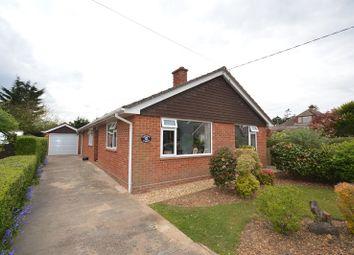 Thumbnail 3 bed detached bungalow for sale in Lawn Road, Pennington, Lymington