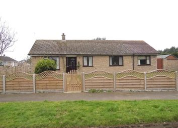Thumbnail 4 bed detached bungalow for sale in North Lawn, Southery, Downham Market