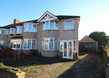 Thumbnail 3 bed end terrace house for sale in Tonbridge Crescent, Kenton, Harrow