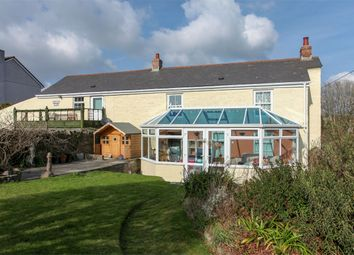 Thumbnail 6 bed cottage for sale in Trethurgy, St Austell, Cornwall