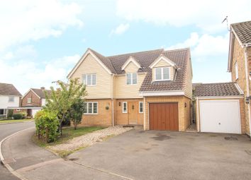 Thumbnail 4 bed detached house for sale in Wetherfield, Stansted, Essex