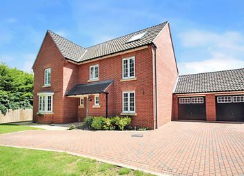 Thumbnail 5 bed detached house for sale in Taylors Lane, Old Catton, Norwich
