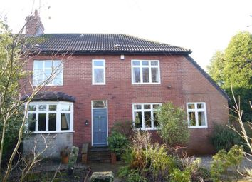 Thumbnail 4 bedroom semi-detached house for sale in Western Way, Ponteland, Newcastle Upon Tyne