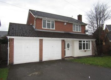 Thumbnail 4 bed property to rent in Halford Close, Whetstone, Leicester