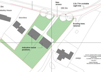Thumbnail Land for sale in Plot A, Yieldshields Road, Yieldshields, Carluke