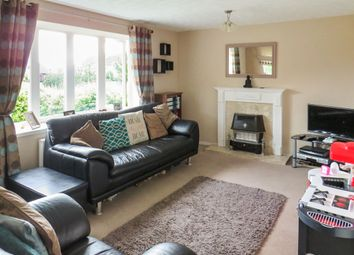 Thumbnail 3 bed detached house for sale in Chalmondley Drive, Melton Mowbray