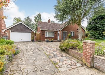 Thumbnail 3 bed detached bungalow for sale in Chapel Road, Carleton Rode, Norwich