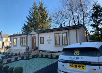 Thumbnail 2 bed lodge for sale in Rob Roy Caravan Park, Carlisle Road, Crawford, Biggar, Lanarkshire