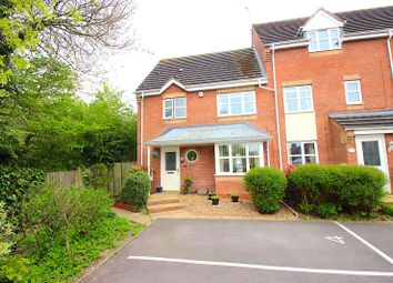 Thumbnail 3 bed town house for sale in Marriott Close, Leicester Forest East, Leicester