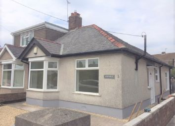 Thumbnail 2 bed semi-detached bungalow to rent in Litchard Bungalows, Bridgend