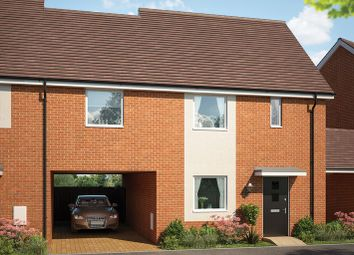Thumbnail 3 bed link-detached house for sale in Forest Road, Witham Essex