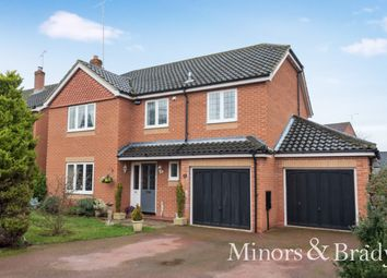 Thumbnail 4 bed detached house for sale in Chestnut Avenue, North Walsham