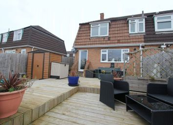 Thumbnail 2 bed semi-detached house for sale in Shelley Crescent, Barry