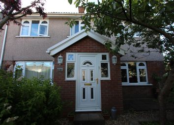 Thumbnail 4 bed semi-detached house for sale in Porset Drive, Castle Park, Caerphilly