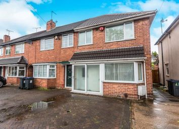 Thumbnail 3 bed end terrace house for sale in Hathersage Road, Great Barr, Birmingham, West Midlands