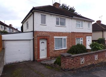 Thumbnail 2 bed semi-detached house for sale in Helena Crescent, Leicester, Leicestershire, England
