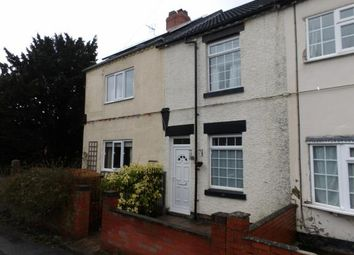 Thumbnail 3 bed terraced house for sale in Moira Road, Donisthorpe, Swadlincote