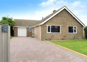 Thumbnail 3 bed bungalow for sale in Seaview Road, East Preston, Littlehampton