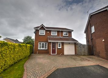 Thumbnail 4 bed detached house for sale in Carrick Drive, Blyth