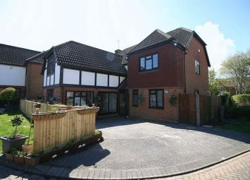 Thumbnail 5 bedroom detached house for sale in Weald Close, Locks Heath, Southampton