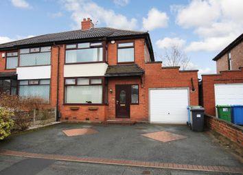 Thumbnail 3 bed semi-detached house for sale in 14, Jackson Avenue, Paddington, Warrington, Warrington