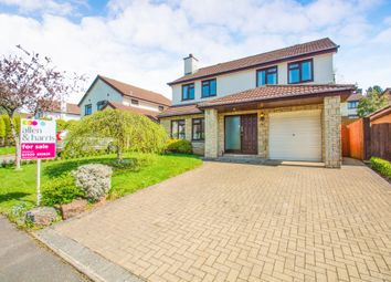Thumbnail 4 bed detached house for sale in Blossom Drive, Lisvane, Cardiff