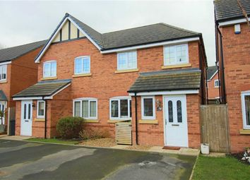 Thumbnail 3 bedroom semi-detached house for sale in 141, Heritage Way, Llanymynech, Powys