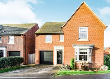 Thumbnail 4 bed detached house for sale in Hampden Way, Greylees, Sleaford