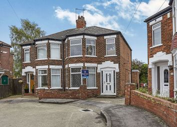 Thumbnail 3 bed semi-detached house to rent in Trafford Road, Willerby, Hull