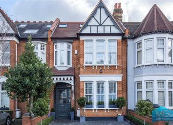 Thumbnail 4 bedroom terraced house for sale in Amberley Road, Palmers Green, London