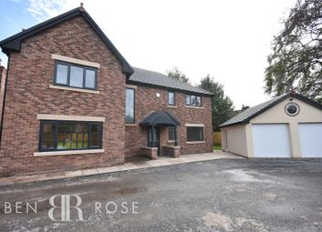 Thumbnail 4 bedroom detached house for sale in Balshaw Villa Gardens, Euxton, Chorley