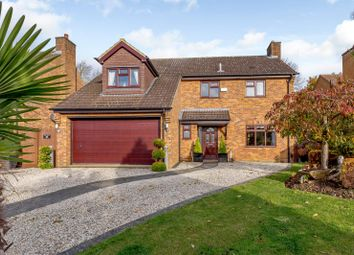 Thumbnail 4 bed detached house for sale in Wood Avens Close, West Hunsbury, Northampton