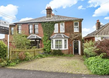 Thumbnail 3 bedroom semi-detached house for sale in Grange Road, Alresford, Hampshire