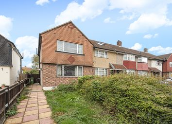 Thumbnail 3 bed end terrace house for sale in Holbeach Gardens, Blackfen, Sidcup