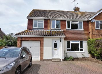 Thumbnail 4 bed semi-detached house for sale in Shardeloes Road, Angmering