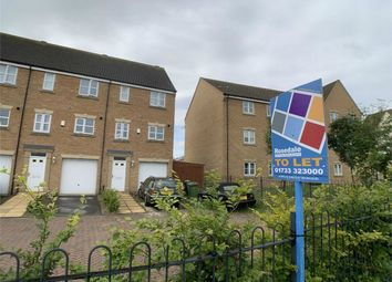 Thumbnail 3 bed town house to rent in Hargate Way, Hampton Hargate, Peterborough, Cambridgeshire