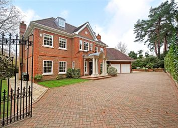 Thumbnail 6 bed detached house for sale in Heath Rise, Wentworth, Virginia Water, Surrey
