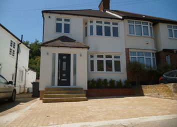 Thumbnail 4 bed semi-detached house to rent in Brook Avenue, Edgware