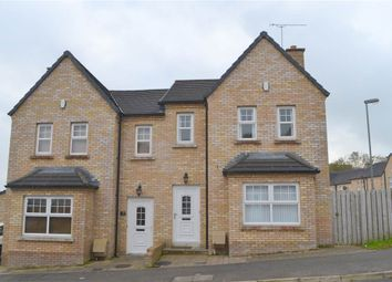 Thumbnail 3 bed semi-detached house for sale in 21, Greenhall Court, Coleraine