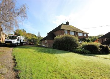Thumbnail 3 bed semi-detached house for sale in Glebe Road, Weald, Sevenoaks
