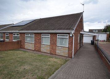 Thumbnail 2 bed semi-detached bungalow for sale in Highgate Close, New Rossington, Doncaster