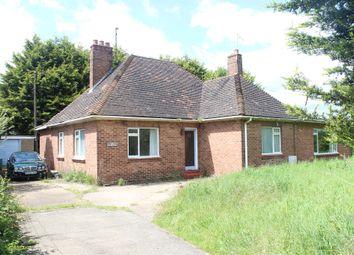 Thumbnail 4 bedroom detached bungalow for sale in Lynn Road, West Winch, King's Lynn