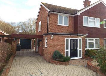 Thumbnail 3 bed semi-detached house to rent in Hopgarden Road, Tonbridge