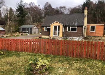 Thumbnail 4 bed bungalow for sale in Cedar Cottage, Invershin, Lairg