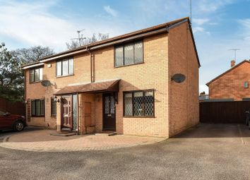Thumbnail 2 bed semi-detached house for sale in Finstock Close, Lower Earley, Reading
