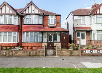 Thumbnail 3 bed semi-detached house for sale in Teignmouth Gardens, Perivale, Greenford