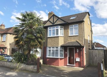 Thumbnail 4 bed semi-detached house for sale in Templedene Avenue, Staines Upon Thames